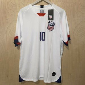 Carli Lloyd Team USA Soccer #10 Dri Fit Men's 2XL